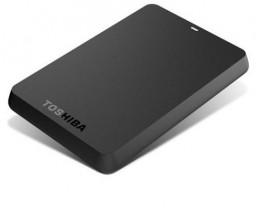 Toshiba 1TB Stor.E Basics USB 3.0 2.5 Inch External Hard Drive - Black