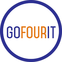 Go four it Logo